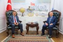 NURETTIN KONAKLı - MEB Strateji Geliştirme Başkanı Konaklı'dan Gürkan'a Ziyaret