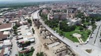 KÖPRÜLÜ - Salihli'nin Köprülü Kavşağı Yükseliyor