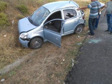 Sinop'ta Trafik Kazası Açıklaması 1 Yaralı