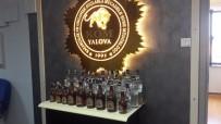 VOTKA - Yalova'da Kaçak İçki Operasyonu
