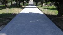 ELEKTRİK HATTI - Alikahya Mezarlıklarına Beton Yol