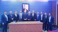 MECLIS BAŞKANı - ATB'den Çıldır, Eximbank İrtibat Bürosu Ve Fuar Alanı Talebi