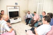 MEHMET ÇETIN - Başkan Doğan'dan Trafik Kazasında 3 Ferdini Kaybeden Aileye Ziyaret