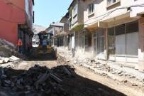 BİTLİS - Bitlis Caddesi'nde Asfalt Hazırlığı