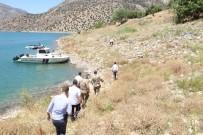 Çemişgezek'te Baraj Gölünde Kıyı Güvenliği İncelemesi