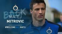 BELÇIKA - Club Brugge Mitrovic'i açıkladı