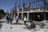 YÜZME HAVUZU - Demirkol Haliliye'ye Yeni Eserler Kazandırıyor
