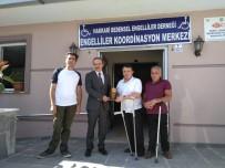 İŞİTME ENGELLİLER - Engellilerden Başkan Vekili Epcim'e Teşekkür Plaketi