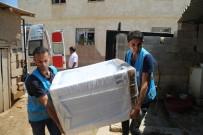 BUZDOLABı - Eyyübiye'de Yardıma Muhtaç Vatandaşların Yüzü Güldü