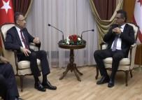 CUMHURBAŞKANı - Fuat Oktay KKTC Başbakanı Erhürman İle Görüştü