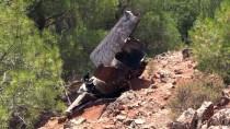 GAZİANTEP HAVALİMANI - Gaziantep'te Roket Parçası Olduğu Düşünülen Enkaz Bulunması