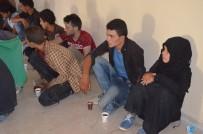 SINIR DIŞI - Hatay'da 16 Kaçak Göçmen Yakalandı