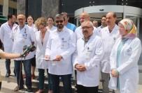 SAĞLIK ÇALIŞANLARI - Hekimlerden Sağlık Çalışanlarına Yapılan Şiddete Tepki