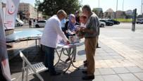 BÖBREK YETMEZLİĞİ - İl Sağlık Müdürlüğü Sağlıklı Yaşam Aracıbilgilendirme Ve Denetim İçin Cumhuriyet Meydanındaydı