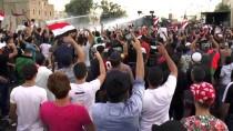 AFGANISTAN - Iraklı Göstericilere Yeşil Bölge Yakınında Müdahale