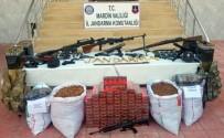 KAÇAKÇILIK - Jandarma Ekiplerinin Arama Yaptığı 2 Evde Silah Ve Mühimmat Ele Geçirildi