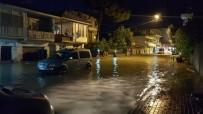 ŞEHIT - Kadirli'de Şiddetli Yağmur Su Baskınlarına Neden Oldu