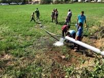 İÇME SUYU - Köylülerin İçme Suyu Hasreti Sona Erdi