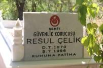 Kulp Belediyesi, Şehit Kabrini Mermer Taşlarıyla Yeniledi