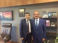 REKTÖR - Rektör Karakaya, Kırşehir Milletvekili Dr. Metin İlhan'ı Ziyaret Etti