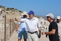 SELÇUK ÜNIVERSITESI - Rektör Şahin Knidos'ta Çalışmaları İnceledi