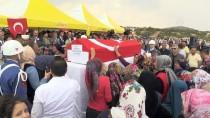 TERÖR ÖRGÜTÜ - Şehit Jandarma Uzman Çavuş Öncebe'nin Cenazesi Defnedildi