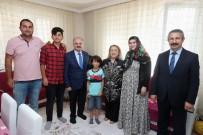 1 EYLÜL - Şehit Kurbanoğlu'nun Ailesi Ziyaret Edildi