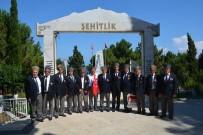 MAZLUM - Sinop'ta Kıbrıs Barış Harekatı'nın 44. Yıl Dönümü Nedeniyle Şehitlik Ziyareti