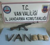 EROIN - Terör Operasyonunda Silah Ve Uyuşturucu Ele Geçirildi