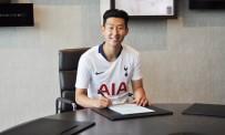 TOTTENHAM - Tottenham, Heung-Min Son'un Sözleşmesini 5 Yıl Uzattı
