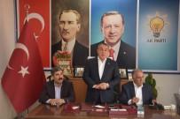 MEHMET EMIN ŞIMŞEK - AK Parti Heyeti Basınla Bir Araya Geldi