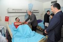 Zeytin Dalı Harekatı - ATO Başkanı Baran, Tedavi Gören Terörle Mücadele Gazilerini Ziyaret Etti