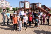 VUSLAT - Beyşehir'de Yeni Çocuk Oyun Parkı Miniklerin Çekim Merkezi Oldu