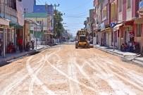 SICAK ASFALT - Gazi Caddesi'nde Çalışmalar Hız Kazandı