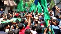 ŞEHIT - Gazze şehidini Türk bayrağıyla uğurladı