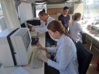 BIYOKIMYA - Giresun'da Sağlık Otobüsü Mahallelerde Hizmet Veriyor