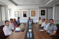 YıLDıRıM BEYAZıT - Melikgazi Belediyesi'nde Plan Ve Proje Müdürlüğü Toplantısı