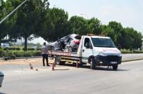 Osmaniye'de Trafik Kazası; 2 Yaralı