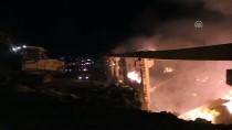 BELEDİYE BAŞKANI - Şanlıurfa'da İplik Fabrikasında Yangın