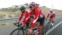 KAYAK MERKEZİ - Yabancı Bisikletçilerin Tercihi Erciyes