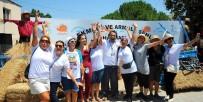 ARMOLA PEYNİRİ - 4 Bin Ekmek Yüzlerce Kilo Peynir Tüketildi