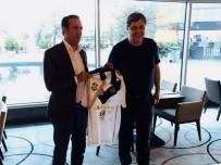 GEVREK - Adil Gevrek, FC Lugano Başkanı Angelo Renzetti'yi Ağırladı