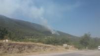 YANGIN HELİKOPTERİ - Denizli'de Orman Yangını Büyümeden Kontrol Altına Alındı