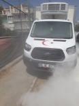 Edremit'te Kamyoneti Tamamen Yanmaktan İtfaiye Kurtardı