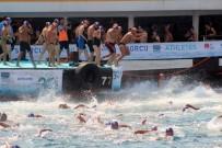 ULUSLARARASI OLİMPİYAT KOMİTESİ - İstanbul Boğazı'nda Samsung Boğaziçi Kıtalararası Yüzme Yarışı Heyecanı Yaşandı
