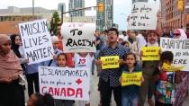 İSLAMOFOBİ - Kanada'da İslamofobi Protestosu
