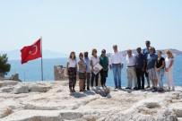 ALTıNOLUK - Rektör Budak, Arkeolojik Kazı Alanlarına Ziyaretlerini Sürdürüyor