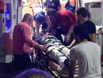 DİZİ OYUNCUSU - Ünlü oyuncu trafik kazası geçirdi