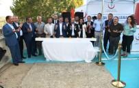 YIPRANMA PAYI - Turan, Bozcaada'da Sağlık Lojmanları Temel Atma Törenine Katıldı