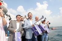 YÜZME YARIŞMASI - Türkiye Milli Olimpiyat Komitesi Tarafından Boğaziçi Kıtalararası Yüzme Yarışı'nın Bu Yıl 30'Uncusu Gerçekleşti